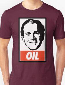 George W. Bush OIL - OBEY Parody Unisex T-Shirt