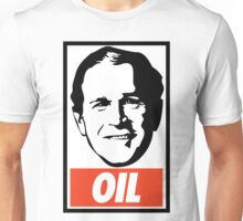 George W. Bush OIL - OBEY Parody Unisex T-Shirt