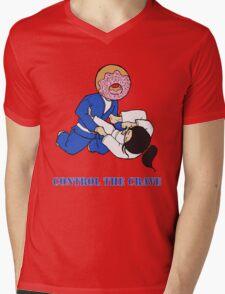 Control the Crave Mens V-Neck T-Shirt
