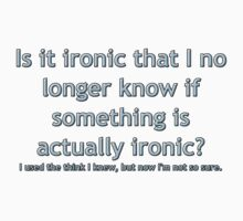 Is it ironic? Kids Clothes