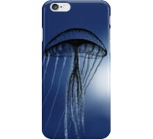 Jellyfish in Silhouette - drawn on the ipad iPhone Case/Skin
