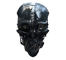 Dishonored Mask Photographic Print