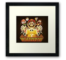 Ultimate Power - Print Framed Print