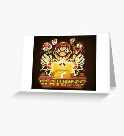 Ultimate Power - Print Greeting Card