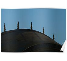 Roof of Summer Palace at Amber Fort Poster