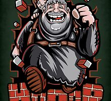 The Incredible Hodor - Print by TrulyEpic