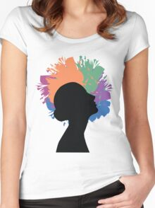 Creative Mind Women's Fitted Scoop T-Shirt