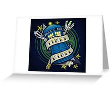 Timey Wimey - Print Greeting Card
