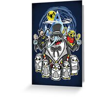 Penguin Time - Print Greeting Card