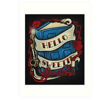 Hello Sweetie - Print Art Print