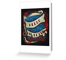 Hello Sweetie - Print Greeting Card