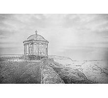 Temple on the Cliff Photographic Print