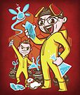 The Legend of Heisenberg - Print by TrulyEpic
