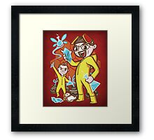 The Legend of Heisenberg - Print Framed Print