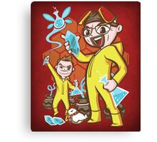 The Legend of Heisenberg - Print Canvas Print