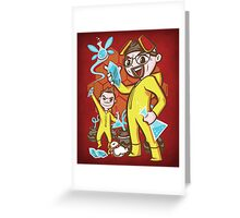 The Legend of Heisenberg - Print Greeting Card