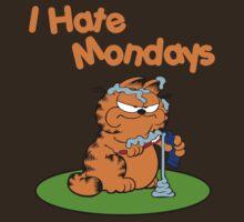 Garfield I Hate Mondays by rbrayzer