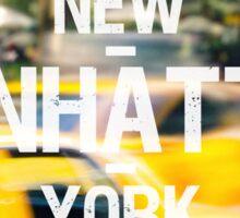 Manhattan Sticker