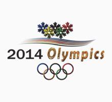 Sochi Olympic t-shirt logo by nhk999