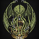 Cthulhu Exterminates - Print by TrulyEpic