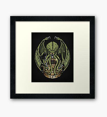 Cthulhu Exterminates - Print Framed Print