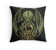 Cthulhu Exterminates - Print Throw Pillow