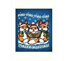 What does the Fox Sing - Print Art Print