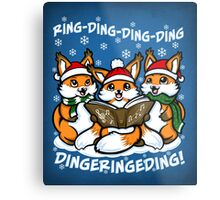 What does the Fox Sing - Print Metal Print