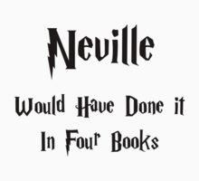 Neville Black Harry Potter by VirtualMan