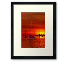 """""""Tangerine Dream"""" Framed Print"""