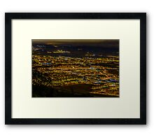 Pamplona city Framed Print