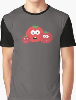 Three Tomatos Graphic T-Shirt