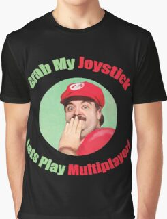 SexyMario - Grab My Joystick Graphic Graphic T-Shirt