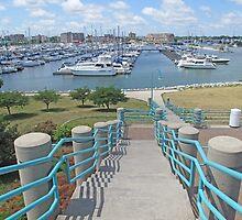 Racine Harbor by Jack Ryan
