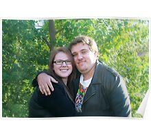 Happy Couple - A Simple Portrait Poster