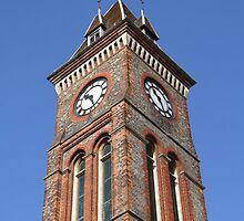 Town Hall Clock - Newbury by Samantha Higgs