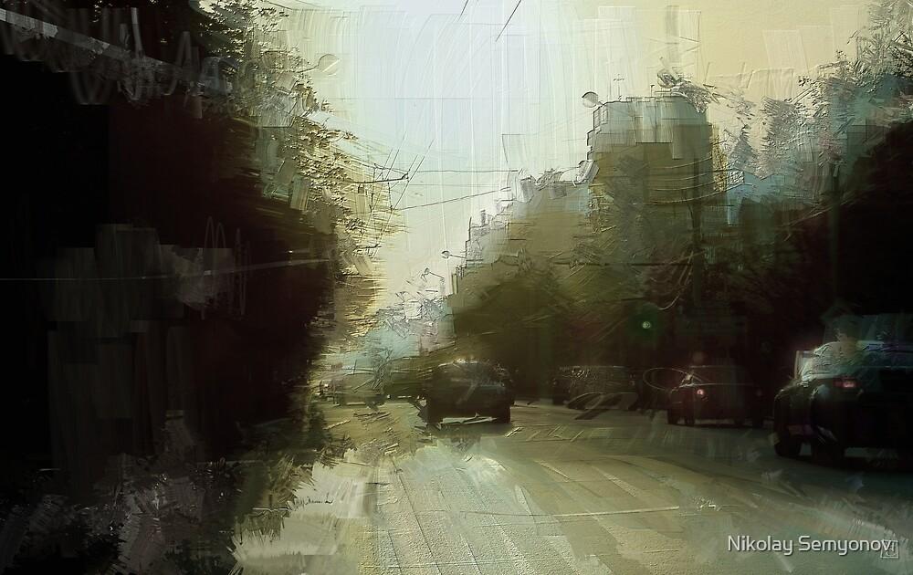 Stachki. Morning by Nikolay Semyonov