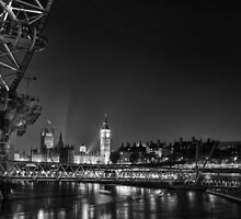 London Cityscpe by Ian Hufton