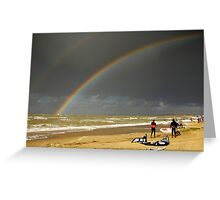 Rainbow... Greeting Card