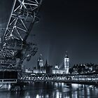 London At Night by Ian Hufton