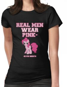 Real Men Wear Pink-ie Pie Shirts Womens Fitted T-Shirt