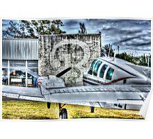 Beechcraft Baron 58 Poster