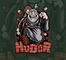 The Incredible Hodor - Iphone Case #1 by TrulyEpic