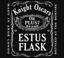 Dark Souls - Knight Oscar's Old Plus 7 Estus Flask by carnivean