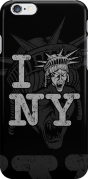 Angels love NY - Iphone Case by TrulyEpic