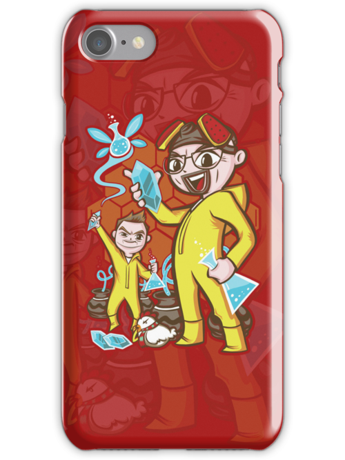 The Legend of Heisenberg - Iphone Case #1 by TrulyEpic