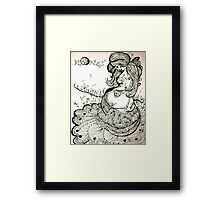 Growing As A Mother Framed Print