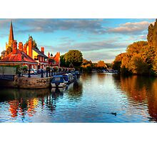 Abingdon on Thames, Oxfordshire Photographic Print