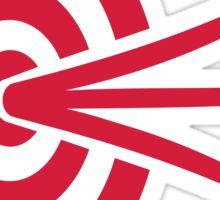 Archery target arrows Sticker