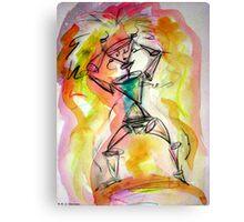 Robot Headache Canvas Print